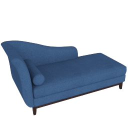 Indiana Chaise-Blue