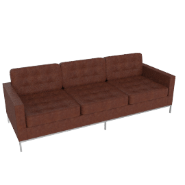 Florence Knoll Sofa - Volo Leather