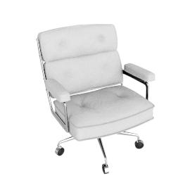 Eames Executive Chair - Edelman Dream Cow - Fresh.Snow