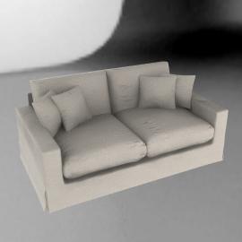 Belle Standard Back Medium Sofa , Latte