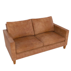 Bailey Medium Sofa, Lustre Cappuccino