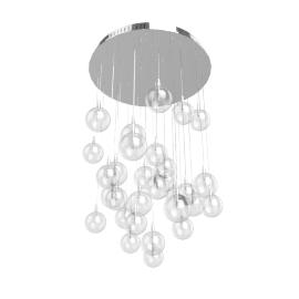 Lewis Semi Flish Ceiling Light