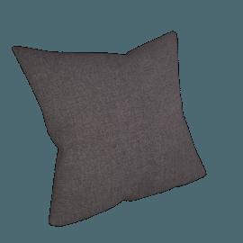 Linen Cushion, Charcoal