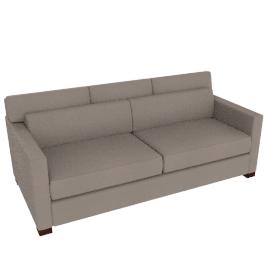 Vesper Queen Sleeper Sofa in Leather