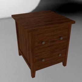 John Lewis Grove 2 Drawer Lamp Box