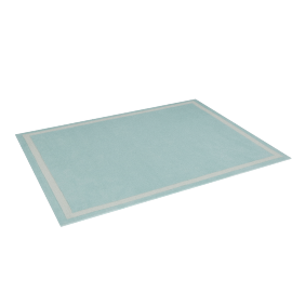 Bellas Tufted Rug - 120x160 cms, Blue