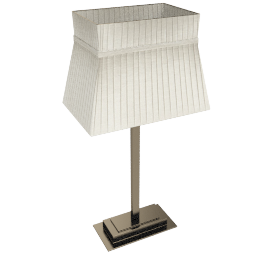 John Lewis Audrey Square Shade Table Lamp, Taupe