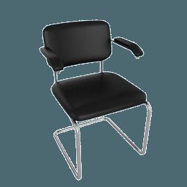 Cesca Armchair - Leather