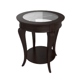 Mirage End Table, Blk
