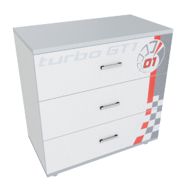 Turbo Chest of Drawers
