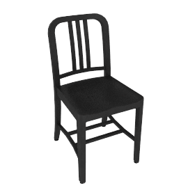 Navy Chair
