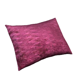 Harlequin Arkona Velvet Cushion, Damson