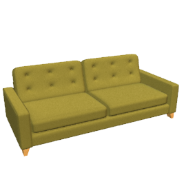 Mayfair Grand Sofa, Leaf