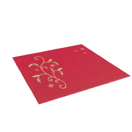 Holly Bough Napkin