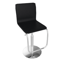 Iris Bar Chair, Black