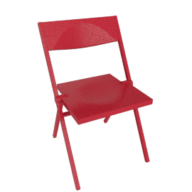 Piana Folding Chair - Red