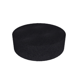 Drum Pouf Cocktail, Anthracite