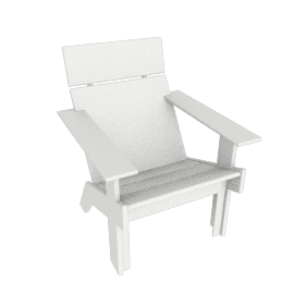 Lollygagger Lounge Chair Tall, White