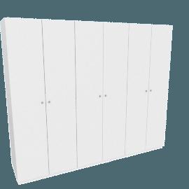 Calypso 6-Door Wardrobe