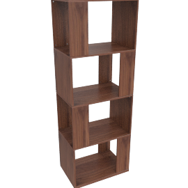 Kya shelving unit, walnut