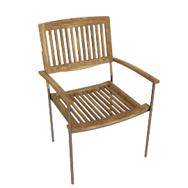 Fiji Stacking Garden Armchair