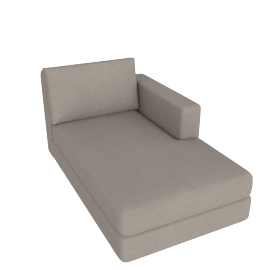 Eterno Chaise Right, Sand