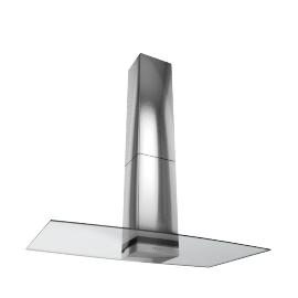 Elica Concept Glacier 90 Chimney Cooker Hood, Stainless Steel