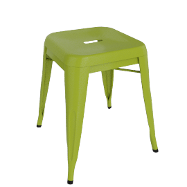 Pair of Legend Café Stools, Lime
