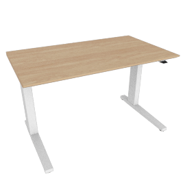 "Renew Sit-to-Stand Desk 24"" x 48"", Ash"