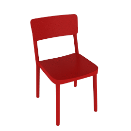 Lisboa Side Chair - Red