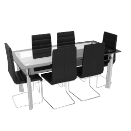 Brenton 6-seater Dining Set
