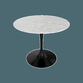 Saarinen Round Dining Table 35'', Laminate - White.White