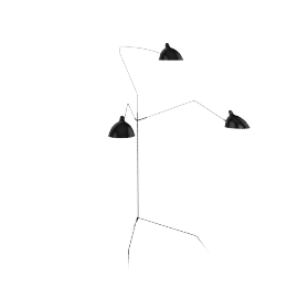 Mouille Three-Arm Floor Lamp