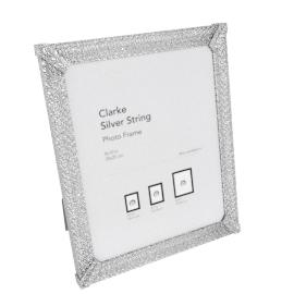 Clarke Photo Frame - 8X10 inch, Silver