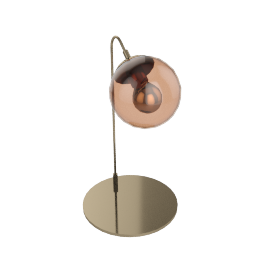 Modo Table Lamp - Brass