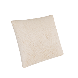 Mongolian Filled Cushion - 45x45 cms, Beige