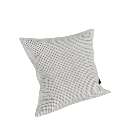 Maharam Pillow in Monks Wool 17'' x 17'', Tusk