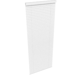 Metal Venetian Blind, White, W60cm