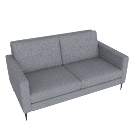 Brunel 3 Seater Sofa, Murcia Grey