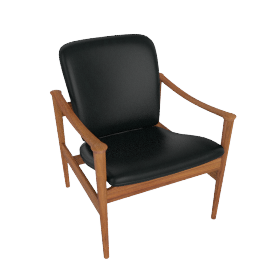 Model 711 Chair, Black