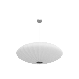 Nelson Saucer Pendant Lamp, large