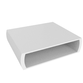 Le Bric Coffee Table, White