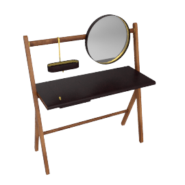 Ren - Dressing table, Testa di moro