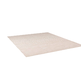 Broken Stripe Rug - 10x12 - Cream