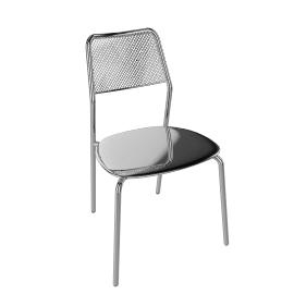Shot Café Chair - Aluminum