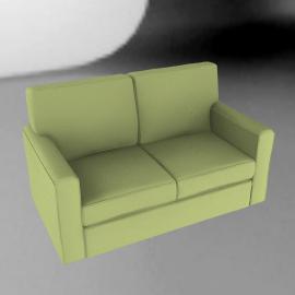 Scoop Sofa Bed, Sage