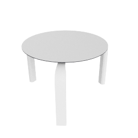 Stack Side Table, White