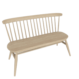 Originals Loveseat Bench, Natural Ash