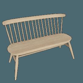 Originals Loveseat Bench, Natural Ash