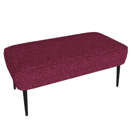 Jersey large footstool